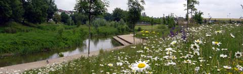Parc de la Seille à Metz bandeau