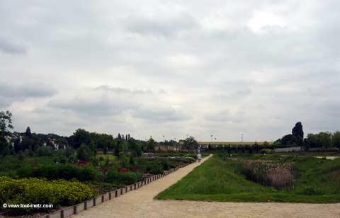 Parc de la Seille à Metz cote lothaire 1