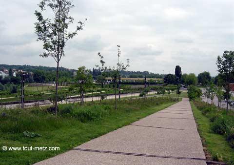 Parc de la Seille à Metz promontoire 7