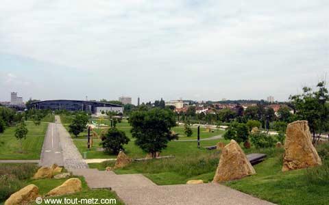 Parc de la Seille à Metz promontoire 4