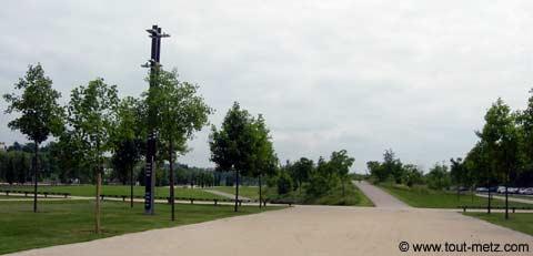 Parc de la Seille à Metz milieu 2