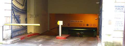 parking port St Marcel Metz