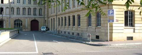 Parking théâtre Metz