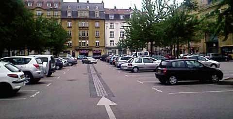parking place du roi georges metz