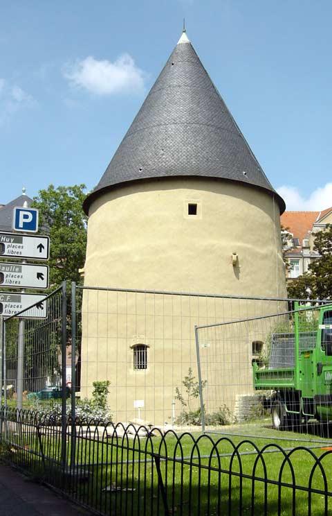 La tour camoufle avenue foch a metz