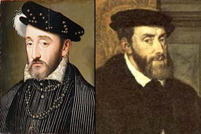 Henri II et Charles Quint