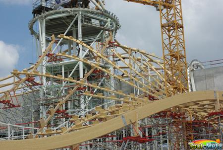 Lancement des travaux de la charpente du centre pompidou metz tout metz - Horaires centre pompidou ...