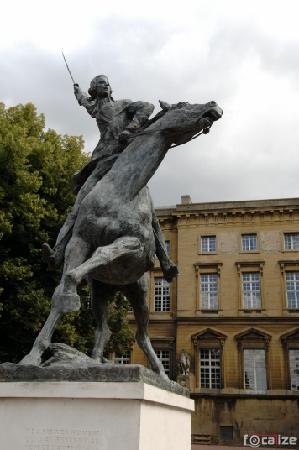 Statue La Fayette Metz