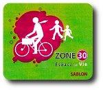 Zone 30 dans le quartier du Sablon