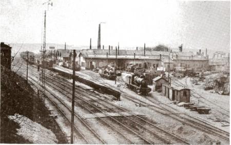 Ancienne gare de triage du Sablon