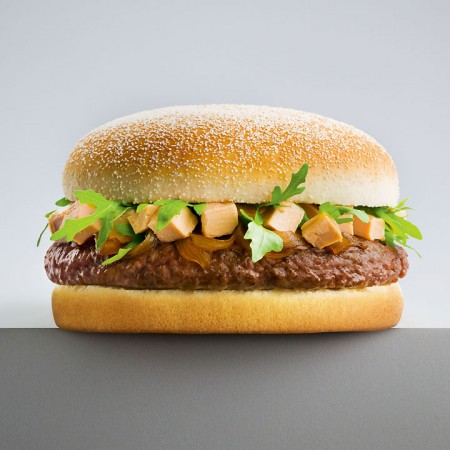Quick : hamburger au foie gras cruauté made in France