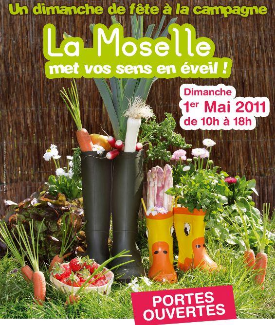 Portes ouvertes chez les agriculteurs en Moselle – Mai 2011
