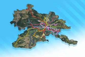Tracé du nouveau réseau sur Metz Métropole
