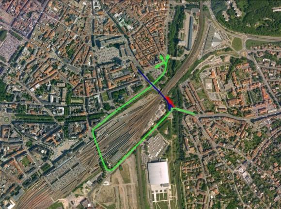 Map du nouveau plan de circulation