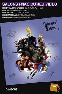 Photo of Salon du jeu vidéo à Metz – Avril et mai 2011