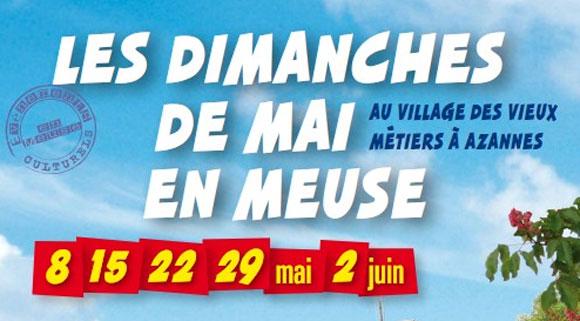 Village des Vieux Métiers à Azannes en Meuse – Mai 2011