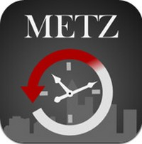 Application iPhone «Metz avant»