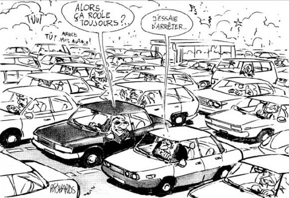 dessin bouchins trafic