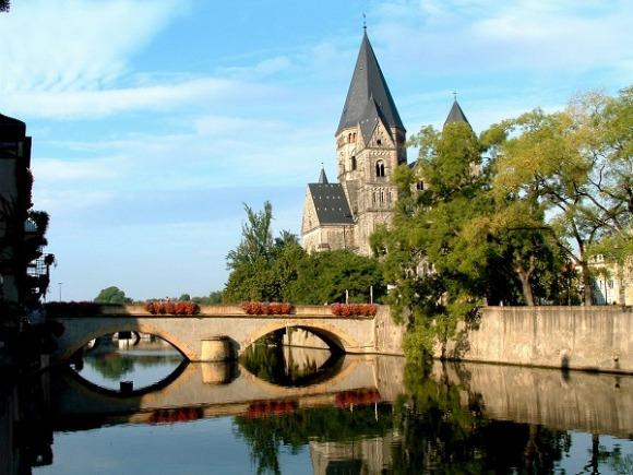 Ponts de Metz : le pont des Roches