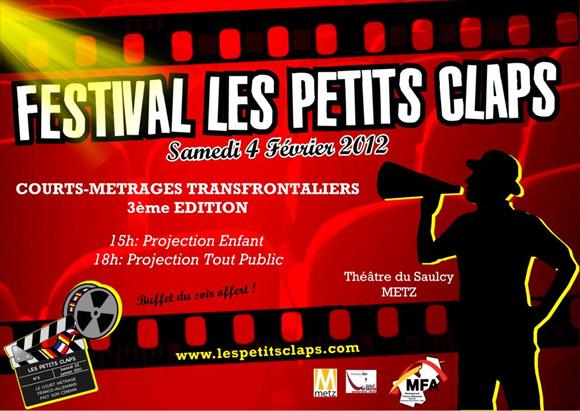 Affiche du festival Les Petits-Claps