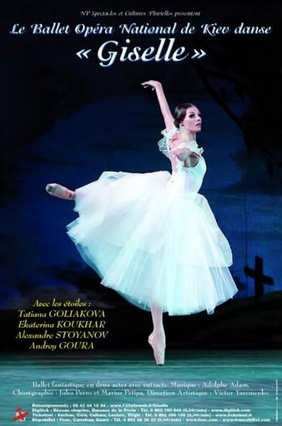 Giselle » est un ballet romantique créé à paris en 1841, composé
