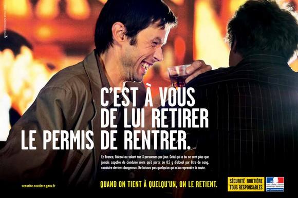 campagne prevention routiere alcool au volant 2011. Black Bedroom Furniture Sets. Home Design Ideas
