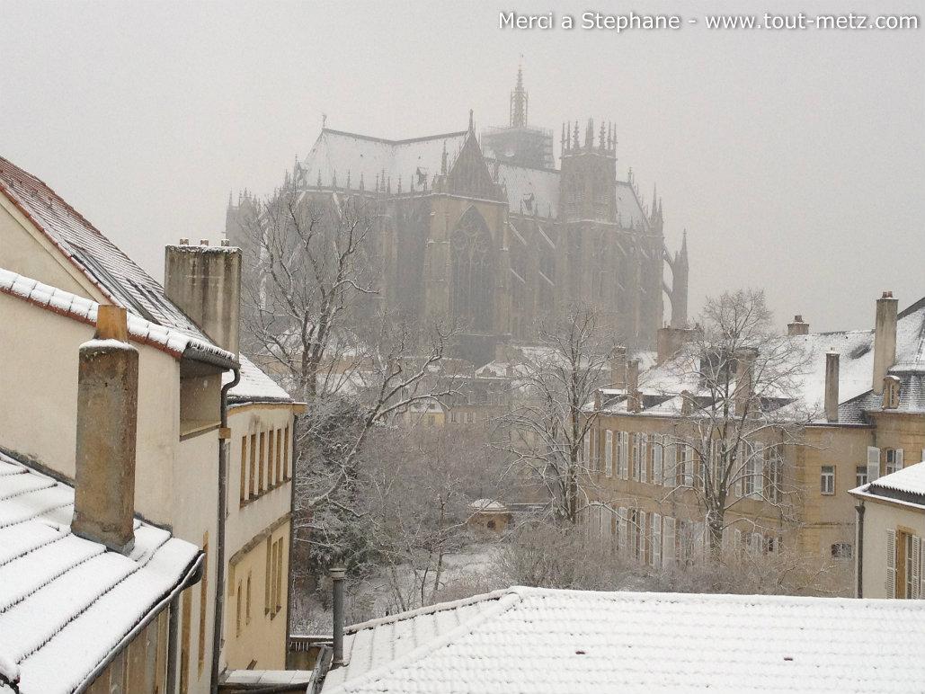 Météo : de la neige annoncée pour ce jeudi en Lorraine