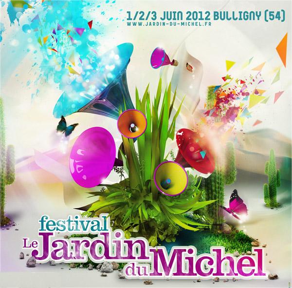affiche festival jardin du michel 2012