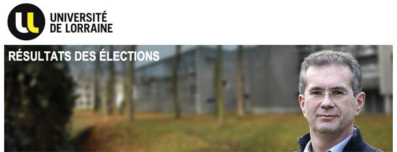 elections université lorraine