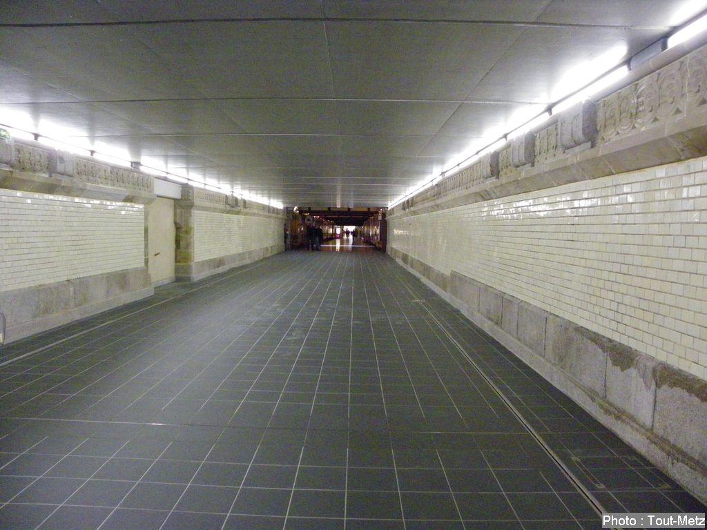 Le passage souterrain de la gare SNCF vers le Sablon fermé pour 18 mois