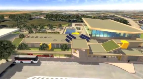 Nouveau centre nautique de Montigny, 1ère vidéo du projet