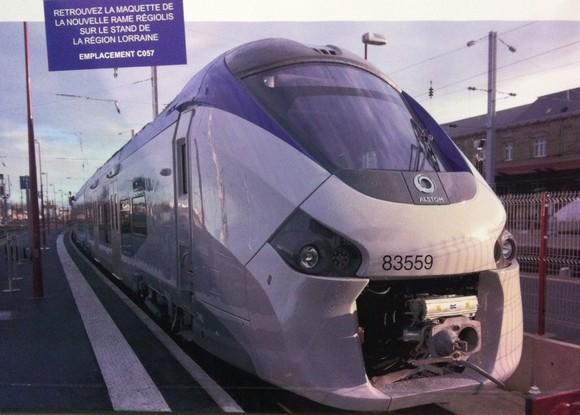Régiolis, le nouveau TER à découvrir en gare de Metz