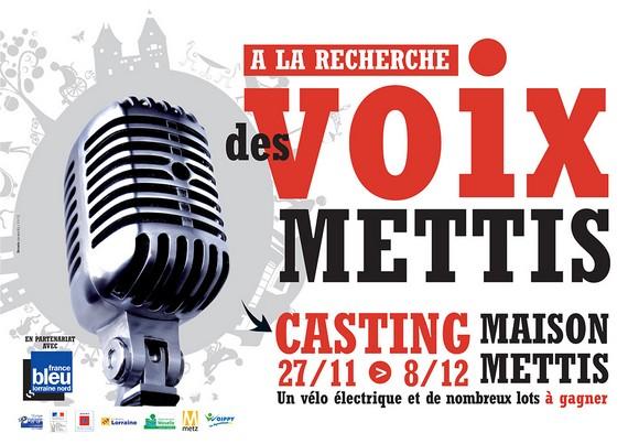 La voix de Mettis… c'est peut être vous ?