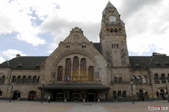 La Gare de Metz, un vestige de l'annexion de la Ville par l'Allemagne