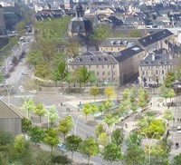 La Place Mazelle à Metz enfin inaugurée, fin du calvaire !
