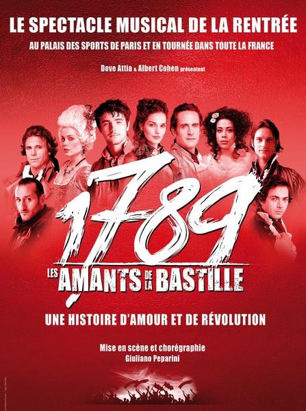 1789, les amants de la Bastille au Galaxie en 2013