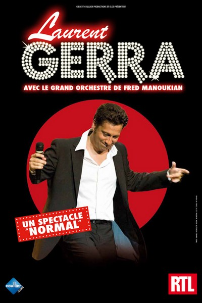 Laurent Gerra et l'orchestre de Manoukian à Metz
