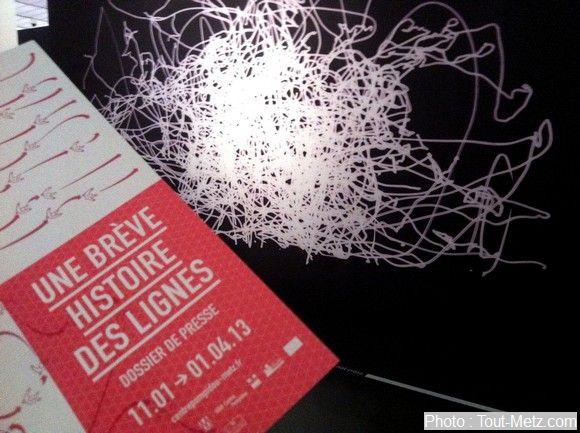 Exposition : Une brève histoire des lignes à Pompidou Metz (photos)