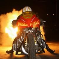Show de moto et voiture dragster à Pont-à-Mousson