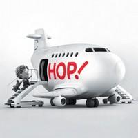 Nouvelle compagnie aérienne Hop : 4 destinations au départ de Lorraine
