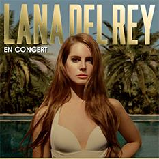 Lana Del Rey au Galaxie d'Amnéville en 2013