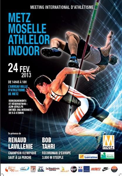 Meeting Athlelor Metz Moselle 2013, pour les amateurs d'athlétisme