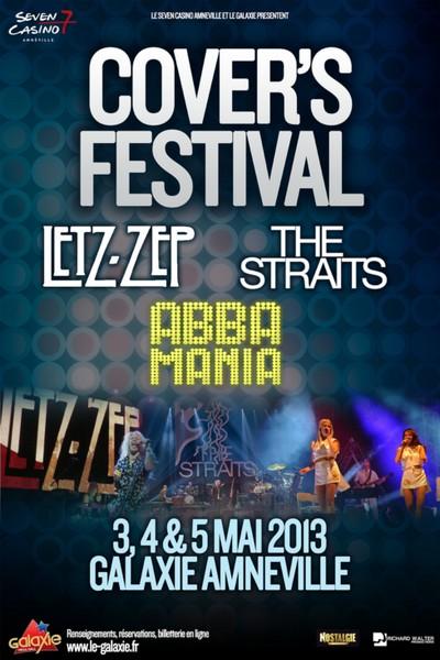 Trois groupes mythiques renaissent avec le Cover's Festival 2013 d'Amnéville