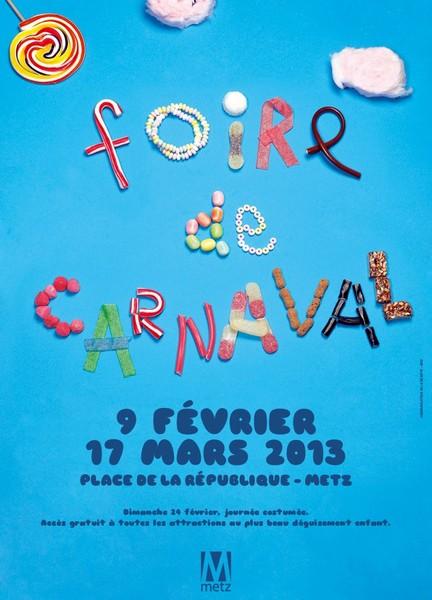 Foire de Carnaval 2013 à Metz
