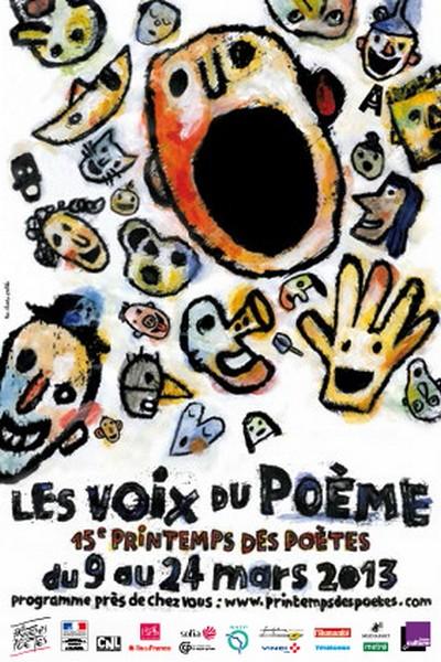 Printemps des poètes 2013 : plus de 40 rendez-vous en Lorraine