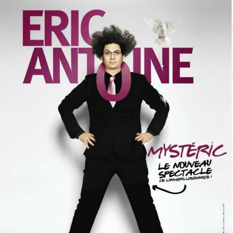 Le magicien Eric Antoine aux Arènes de Metz