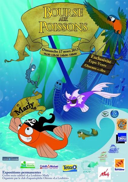 5 000 espèces de poissons exposées à Marly