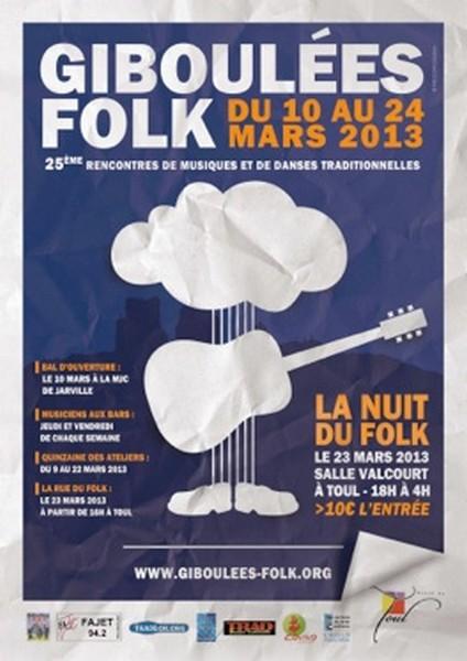 Giboulées Folk 2013 en Lorraine : musiques, danses et ateliers
