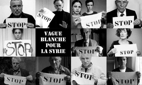 Vague blanche pour la Syrie à Metz