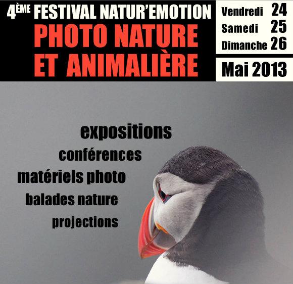 Nature et photographie s'allient pour le festival Natur'émotions